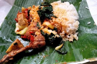 nasi padang bungkus